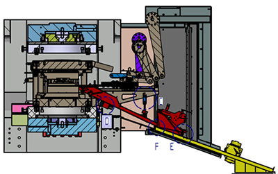 Zeichnung Servomotor